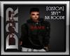 [D2R]SAVY-BLK HOODIE