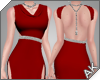 ~AK~ Elegant Gown: Red