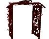 Red Black Archway