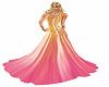 vestido colorido abs