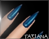 lTl Blue Nails