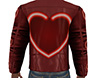 Hearts Leather Jacket M
