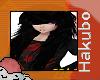 Long Black Emo Hair