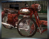 Filthy Rusted Motor Bike