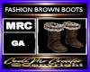 FASHION BROWN BOOTS