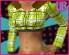 UB Plaid Green Hoody