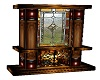 Stainglass Fireplace