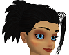 Saiyan Black Hair