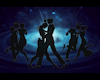 Galaxy Silhouette Dancer