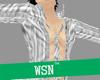 [wsn]OpenShirt#White