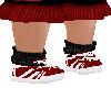 Red sock Shoe 2