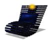 [FS] Blue Bent chair