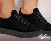 Black n Grey Sneakers