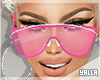 Clear SunGlasses PINK