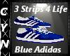 3 Strps 4 life Blue