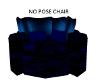 No Pose Blue Chair