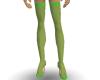 Heels & Stockings Lime