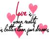 *s0* Love...Reality