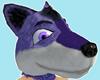 Wolf Head, Size: Medium