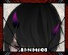 Purple Demon Horns