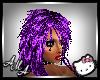 toxic purple furry hair