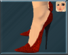 !F! Sasha Stilettos Red