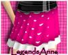 Oo Pink Polka Skirt oO