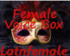 (AA) Female Voices