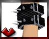 (V) Fishnet Wristcuff Bk