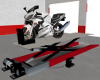 MotorCycle Lift Animated