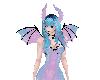 Pastel Goth Demon Horns