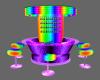 (R)Rainbow Bar W/Poses