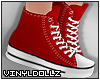!V! Sneakers Red