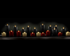 Candles shelf