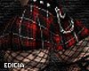 CIA~Red Plaid and chains