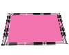 Pink Plaid Rug