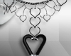 *W* Traci Heart Necklace