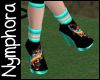 {N} Space Rainbow Shoes