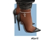 Fashion Anklet R Silver