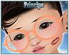 Kids. Orange Glasses