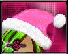 ~S~Baby Pink Santa Hat