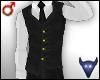 Classy grey vest (m)