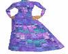 Purple Mosaic dress