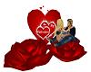 Valentine Rose Lounger