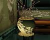 green/flower vase