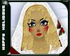 Elf Hood Red/Blonde
