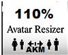 110 %  SCALER