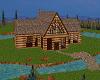 Lake Front Log House