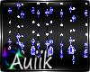 A| Blue Crystal Beads