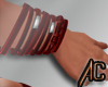 (A) Right Bracelet Red
